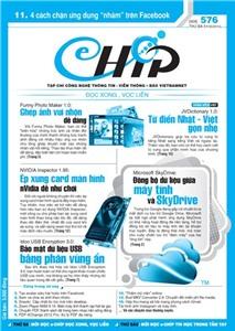 Mục lục Tạp chí e-CHÍP 576 ĐXVL (Thứ ba, 1/5/2012)