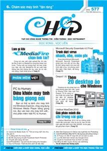 Mục lục Tạp chí e-CHÍP 577 ĐXVL (Thứ ba, 8/5/2012)