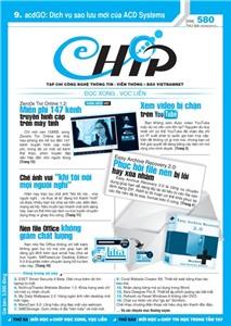 Mục lục Tạp chí e-CHÍP 580 ĐXVL (Thứ ba, 29/5/2012)