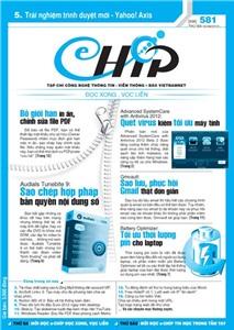 Mục lục Tạp chí e-CHÍP 581 ĐXVL (Thứ ba, 5/6/2012)