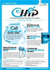 Mục lục Tạp chí e-CHÍP 582 ĐXVL (Thứ ba, 12/6/2012)