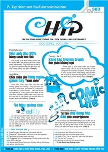 Mục lục Tạp chí e-CHÍP 583 ĐXVL (Thứ ba, 19/6/2012)