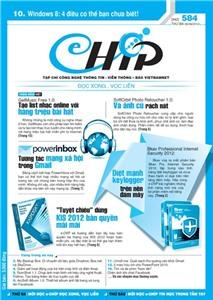 Mục lục Tạp chí e-CHÍP 584 ĐXVL (Thứ ba, 26/6/2012)