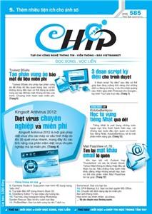 Mục lục Tạp chí e-CHÍP 585 ĐXVL (Thứ ba, 3/7/2012)