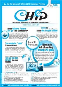 Mục lục Tạp chí e-CHÍP 588 ĐXVL (Thứ ba, 24/7/2012)