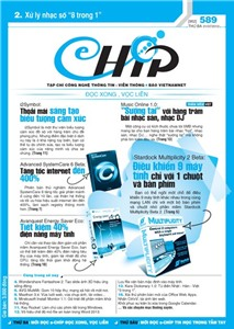 Mục lục Tạp chí e-CHÍP 589 ĐXVL (Thứ ba, 31/7/2012)