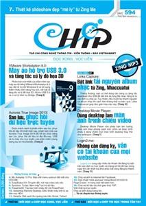 Mục lục Tạp chí e-CHÍP 594 ĐXVL (Thứ ba, 4/9/2012)