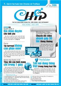 Mục lục Tạp chí e-CHÍP 596 ĐXVL (Thứ ba, 18/9/2012)