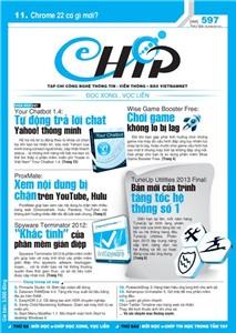 Mục lục Tạp chí e-CHÍP 597 ĐXVL (Thứ ba, 25/9/2012)