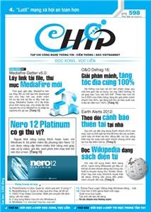 Mục lục Tạp chí e-CHÍP 598 ĐXVL (Thứ ba, 2/10/2012)