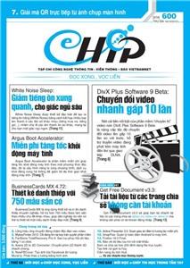 Mục lục Tạp chí e-CHÍP 600 ĐXVL (Thứ ba, 16/10/2012)
