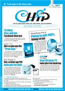 Mục lục Tạp chí e-CHÍP 601 ĐXVL (Thứ ba, 23/10/2012)