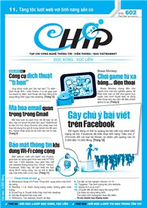 Mục lục Tạp chí e-CHÍP 602 ĐXVL (Thứ ba, 30/10/2012)