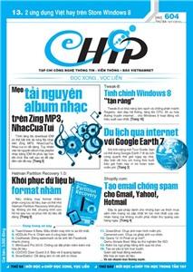 Mục lục Tạp chí e-CHÍP 604 ĐXVL (Thứ ba, 13/11/2012)