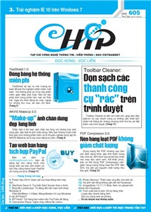 Mục lục Tạp chí e-CHÍP 605 ĐXVL (Thứ ba, 20/11/2012)