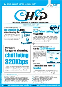 Mục lục Tạp chí e-CHÍP 607 ĐXVL (Thứ ba, 4/12/2012)