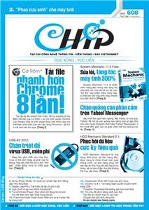 Mục lục Tạp chí e-CHÍP 608 ĐXVL (Thứ ba, 11/12/2012)