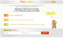 """Make-up"" website trực tuyến"