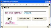 Bảo mật tập tin .MDB