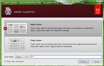 Adobe LeanPrint: Tiết kiệm 40% chi phí mực in laser