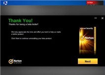 Gỡ bỏ Norton Internet Security 2013 Beta