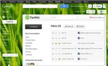 Hộp thư mạng xã hội mang phong cách Gmail