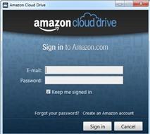 Amazon Cloud Drive: Truy cập ổ đĩa Amazon từ desktop
