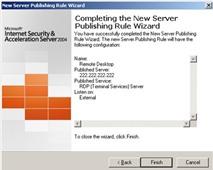 Cài đặt tường lửa ISA trên máy chủ Web để tự bảo vệ