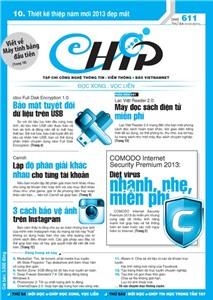 Mục lục Tạp chí e-CHÍP 611 ĐXVL (Thứ ba, 1/1/2013)