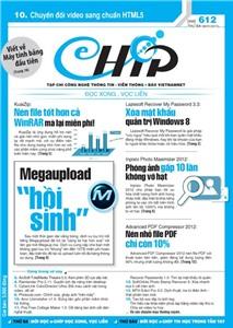 Mục lục Tạp chí e-CHÍP 612 ĐXVL (Thứ ba, 8/1/2013)