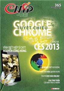 Mục lục Tạp chí e-CHÍP 365 (Thứ sáu, 11/1/2013)