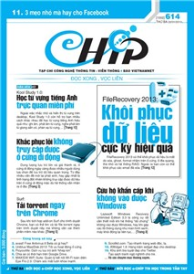Mục lục Tạp chí e-CHÍP 614 ĐXVL (Thứ ba, 22/1/2013)