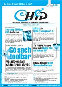 Mục lục Tạp chí e-CHÍP 616 ĐXVL (Thứ ba, 5/3/2013)