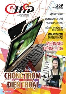 Mục lục Tạp chí e-CHÍP 369 (Thứ sáu, 15/3/2013)