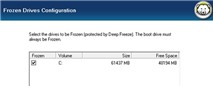 Deep Freeze Standard 7.6: Dễ dàng đóng băng Windows 8