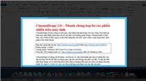 CinemaDrape 2.0: Giúp bạn tập trung hơn vào công việc