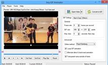 Any GIF Animator: Dễ dàng tạo GIF động từ video