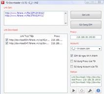 TD-Downloader 3.7.2: Tải Fshare, 4Share, Zing Mp3 không cần tài khoản VIP