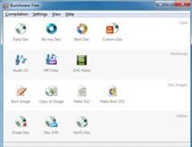 BurnAware Free 6.0: Trình ghi đĩa miễn phí, đa năng