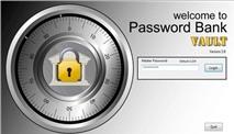 """Password Bank Vault: """"Két sắt"""" quản lý tài khoản web an toàn"""