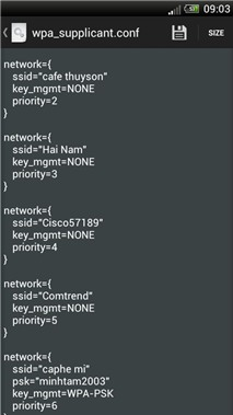 Root Browser Lite: Tìm mật khẩu Wi-Fi đã từng truy cập trên Android