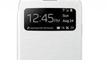 "S View Flip Cover - Bao da ""thông minh"" cho S4"
