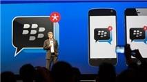 BlackBerry Messenger trên iOS và Android: Dao hai lưỡi?