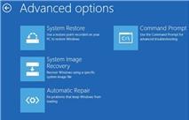 Sửa lỗi không thể Refresh hay Reset Windows 8