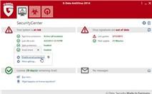 G Data Antivirus 2014: Diệt virus, bảo vệ hệ thống tuyệt đối an toàn