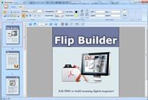 Flip Builder 1.0: Tạo sách điện tử lật trang đẹp mắt