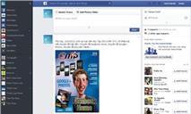 Thử xài giao diện mới của Facebook