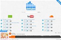 Tìm và chơi nhạc trên Spotify, Soundcloud, YouTube