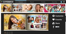 CoverBud Designer: Tạo ảnh bìa Facbook độc đáo theo mẫu