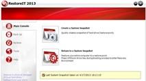 RestoreIT 2013: Sao lưu, phục hồi hệ thống tính bằng giây